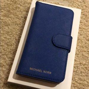 MICHAEL KORS | Blue iPhone 7 Case
